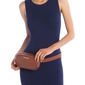NEW! STEVE MADDEN Brown Pebble Belt Bag Fanny Pack